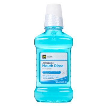 DG Health Antiseptic Mouth Rinse - Blue Mint, 500 ml