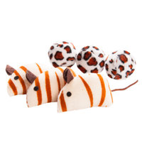 Grreat ChoiceA Safari Ball Mice Cat Toy