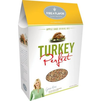 Fire & Flavor Turkey Perfect, Apple Sage Brining Mix, 18-Ounce Boxes (Pack of 3)
