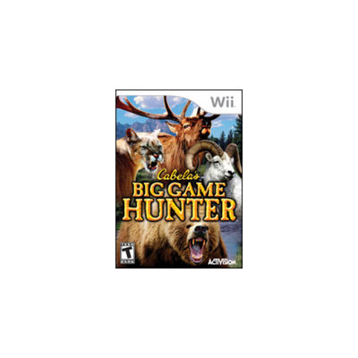 Activision Cabela's Big Game Hunter