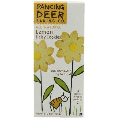 Dancing Deer Baking Co. Shortbread Cookies, Lemon Daisy, 6-Ounce Box, (Pack of 6)