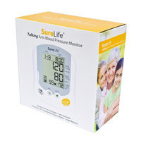 Easy Touch, SureLife Talking Arm Blood Pressure Monitor - 1 each