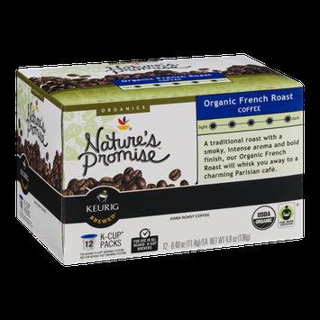 Nature's Promise Organics Organic French Roast Coffee K-Cup Packs Dark Roast - 12 CT