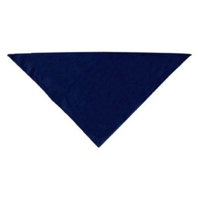 Mirage Dog Supplies Plain Bandana Navy Blue Large
