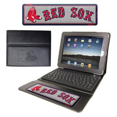 MLB Executive iPad Keyboard Case Boston Red Sox