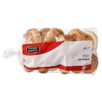 market pantry Market Pantry Plain Mini Bagels 12 ct