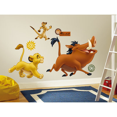 Roommates RoomMates The Lion King Peel & Stick Giant Wall Decals