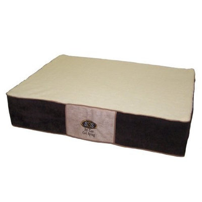 Pet Goods Mfg   Imports Pet Goods PetCare Coil Spring Mattress with Fleece Top