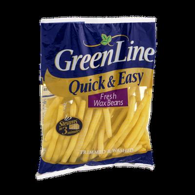 Green Line Fresh Wax Beans