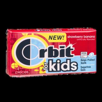 Orbit For Kids Strawberry Banana