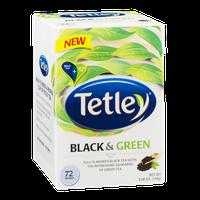 Tetley Black & Green Tea Bags - 72 CT