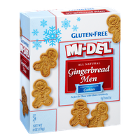 Mi-Del Gluten-Free All Natural Gingerbread Men Cookies