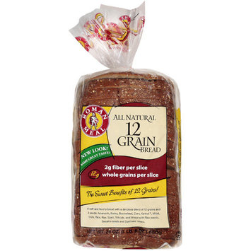 Roman Meal All Natural 12 Grain Bread, 24 oz