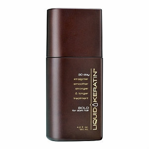 Liquid Keratin 30 Day Straighter Smoother Stronger Bold for Dark Hair Treatment