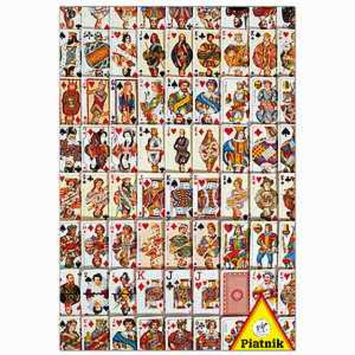 Piatnik Playing Cards Puzzle 6000 pcs  Ages 12 and up