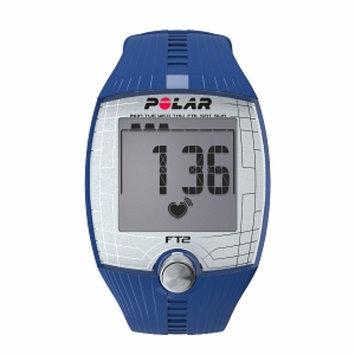 Polar FT2 Heart Rate Monitor, Blue, 1 ea