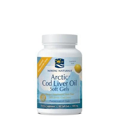 Nordic Pure Nordic Naturals - Arctic Cod Liver Oil (Lemon) - 90ct