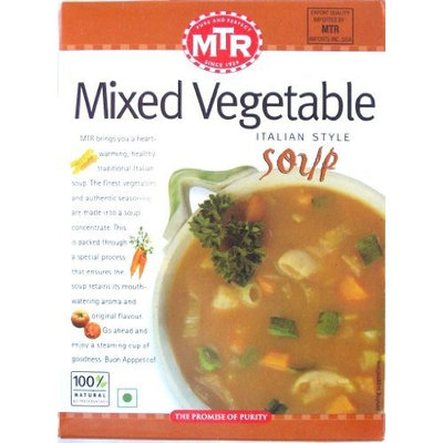 MTR Soup, Mixed Vegetable, 8.75-Ounce Boxes (Pack of 12)