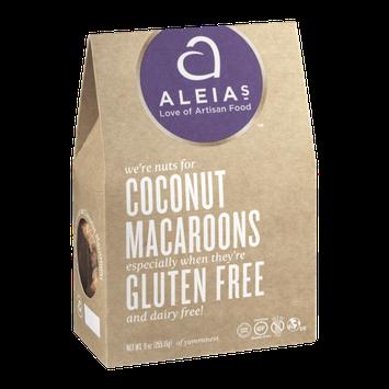 Aleia's Coconut Macaroons Gluten Free