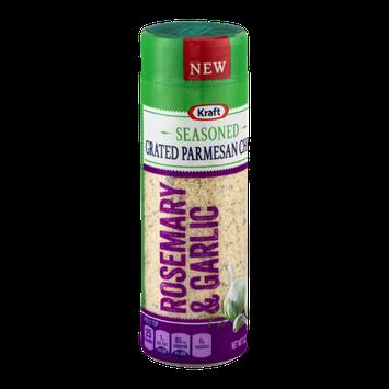Kraft Seasoned Grated Parmesan Cheese Rosemary & Garlic