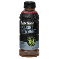 Function Drinks Light Weight, Blueberry Raspberry, 16.9-Ounce (Pack of 12)