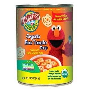 Earth's Best Sesame Street Organic Elmo Tomato Soup