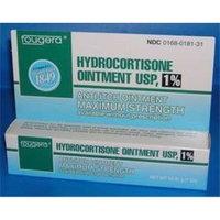 Hydrocortisone 1 % Maximum Strength Anti-Itch Ointment OTC By Fougera - 1 Oz