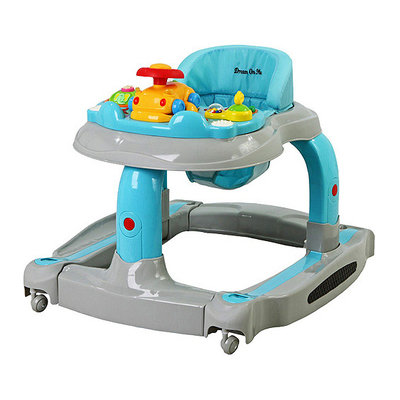 Dream On Me - 2-in-1 Baby Tunes Musical Activity Walker and Rocker