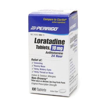 Perrigo Loratadine 10 mg Tablets 24 Hour Antihistamine