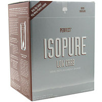 Nature's Best Perfect Isopure Low Carb Dutch Chocolate Protein Drink Mix Powder