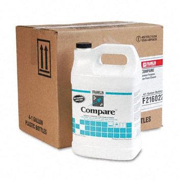 Franklin Compare Floor Cleaner, 1 gal Bottle, 4/carton