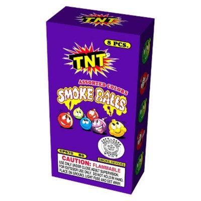 TNT Media group TNT Fireworks Smoke Balls Box of 8