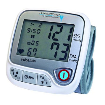 Lumiscope Deluxe Wrist Style Blood Pressure Monitor