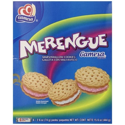 Gamesa Merengue Marshmallow Cookies, 15.5 Ounce