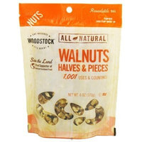 Natural Sea Woodstock Farms All Natural Raw Walnuts Halves and Pieces, 6 Ounce -- 8 per case.