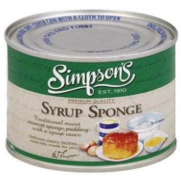 Simpsons Simpson's Syrup Sponge Pudding, 10.5 oz, (Pack of 6)