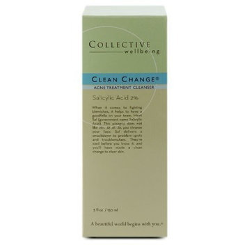 Collective Wellbeing Clean Change Acne Cleanser - 5oz