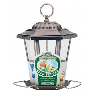 Gardman BA01141 Carriage Light Feeder, Antique (Discontinued by Manufacturer)