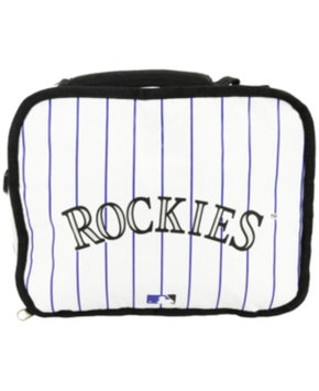 Colorado Rockies White Lunch Box Concept One Accessories