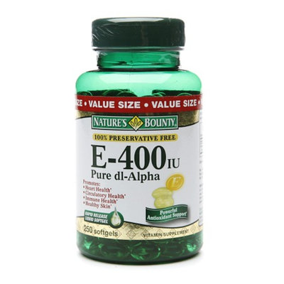 Nature's Bounty E-400 IU