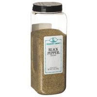 Traders Choice Pepper, Black Ground, 14-Ounce Plastic Containers (Pack of 6)