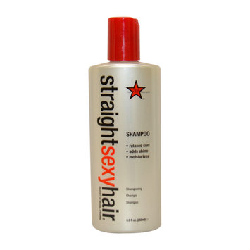 Straight Sexy Hair Shampoo by Sexy Hair for Unisex - 8.5 oz Shampoo