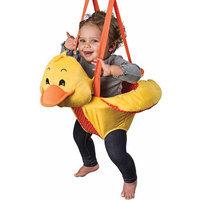 Exersaucer Evenflo ExerSaucer Soft & Snuggly Door Jumper, Duck