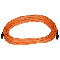 Monoprice Fiber Optic Cable, MTRJ (Female) /MTRJ (Female), OM1, Multi Mode, Duplex - 10 meter (62.5/125 Type) - Orange