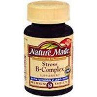 Nature Made Stress Formula Vitamin B-Complex + Zinc Tabs, 60 ct