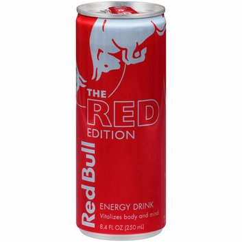 Red Bull The Red Edition Energy Drink