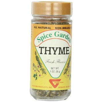 Spice Garden Thyme, Whole, 1 oz. 28 g Jar (Pack of 8)