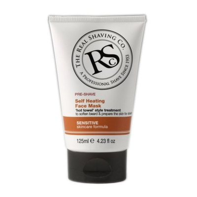 The Real Shaving Co. Pre-shave Self Heating Face Mask 4.23 Fl. Oz.