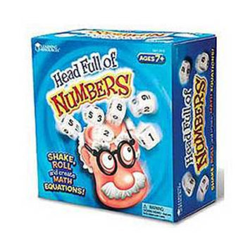 Learning Resources Head Full of Numbers Math Game Ages 7+