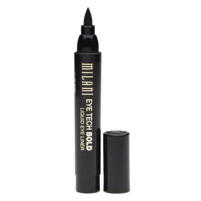 Milani Eye Tech Bold Liquid Eye Liner, Black 01, .08 fl oz